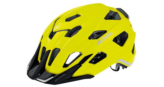 Alpina Yedon City Kask żółty/kolorowy